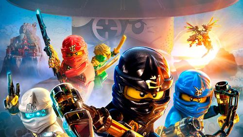 Ninjago is featured on a Cartoon Network TV series of the same name / Lego/Cartoon Network