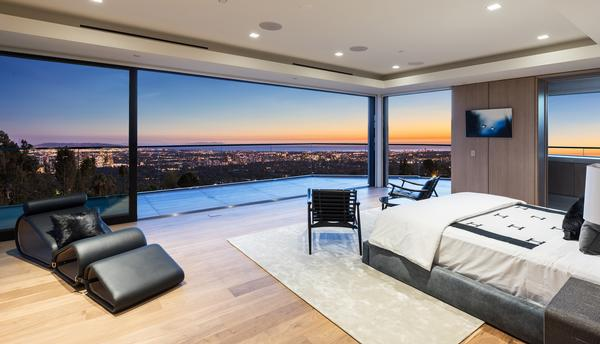 Delos has installed Darwin in a new luxury residence, 371 Summitridge Drive in Beverly Hills