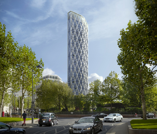 The 58-storey development has gained planing permission and is awaiting final approval from the London mayor / Canary Wharf Group