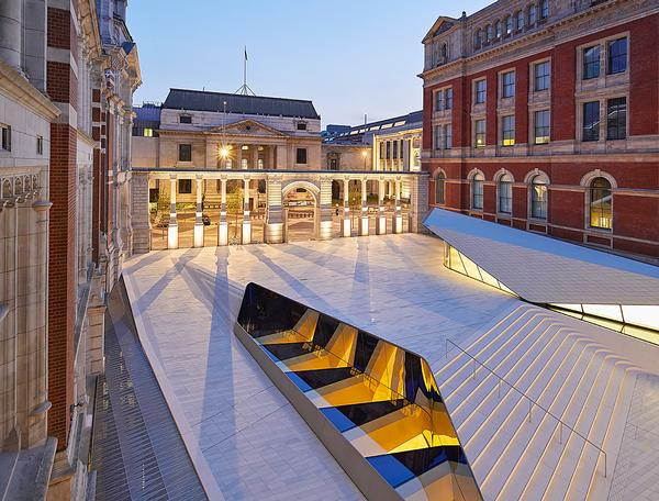 Octatube was awarded for its V&A expansion work