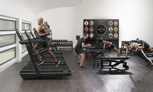 SKILLRUN is the only treadmill that incorporates resistance training
