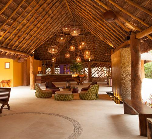 Mayan-inspired Mexican Spa Boasts Gypsy Designs And Remote