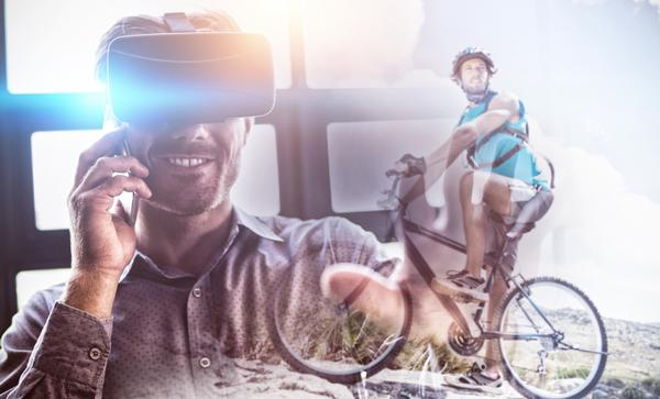 Augmented reality could allow fitness fans to exercise in exciting locations / PHOTO: shutterstock.com