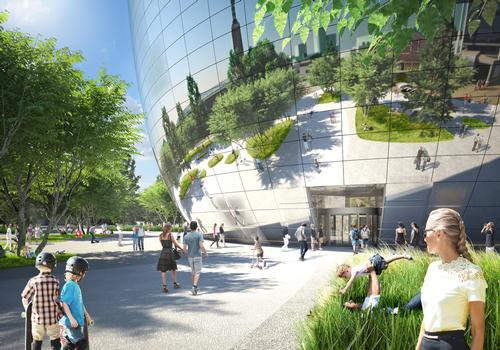 Construction is expected to start in Q3 2016 and the should open its doors by the end of 2018 / MVRDV