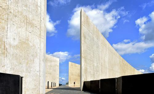 The Flight 93 National Memorial has opened to the public with designs by Paul Murdoch Architects