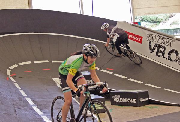 Each Street Velodrome series event follows a three-day format