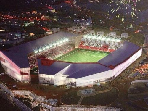 Stadium Design Plan Gibraltar Planning New Stadium
