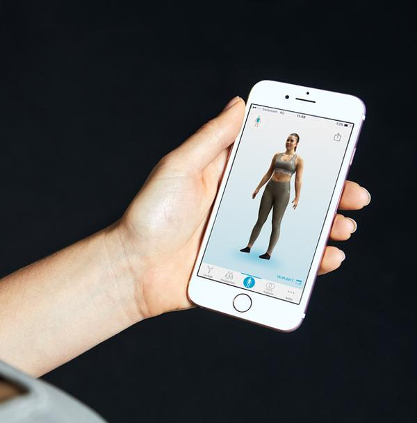 Bodygee is able to render 3D images photo-realistically to increase engagement