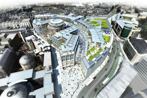Edinburgh St James is now scheduled to be completed in 2020 / BDP
