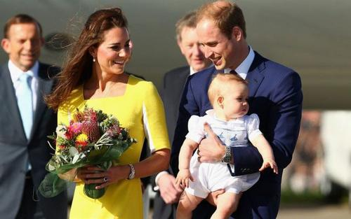 The UK celebrated a record year for inbound tourism in 2013 when Prince George was born / Flickr.com / Hot Gossip Italia