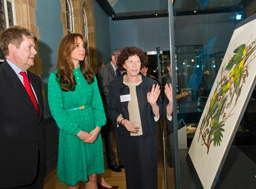 Duchess of Cambridge becomes patron of Natural History Museum