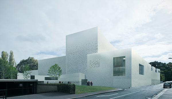 Concept for the Beauvais Theatre project which didn't proceed / this IMAGE & above: ©MOREAU KUSUNOKI