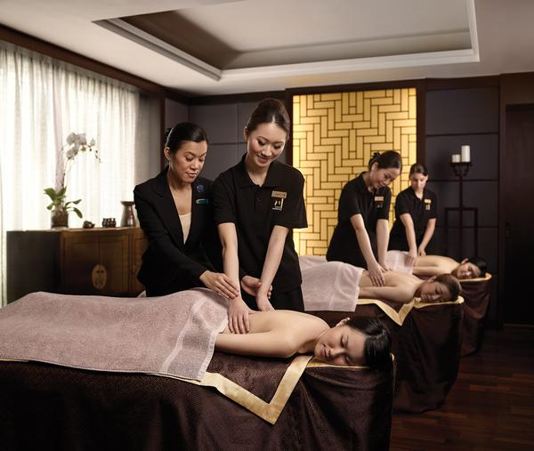Chuan spa the in house concept for langham focuses on for Qc terme new york