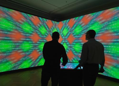 The 'Immersion Room' offers visitors an all encompassing experience / Cooper Hewitt