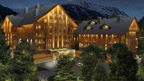 Andermatt Swiss Alps project underway in canton of Uri