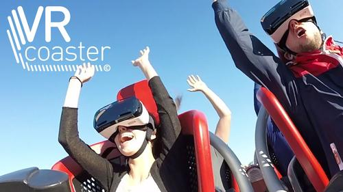 VR rollercoasters will be making their mark on the attractions industry over the course of the next year