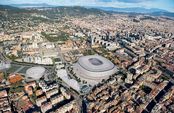 "Espai Barça will be ""an  architecturalisation of the club's values"""