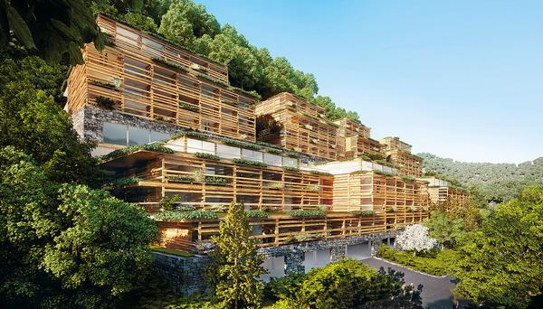 Upcoming Matteo Thun project, the Waldhotel Healthy Living in Switzerland, will open in 2017