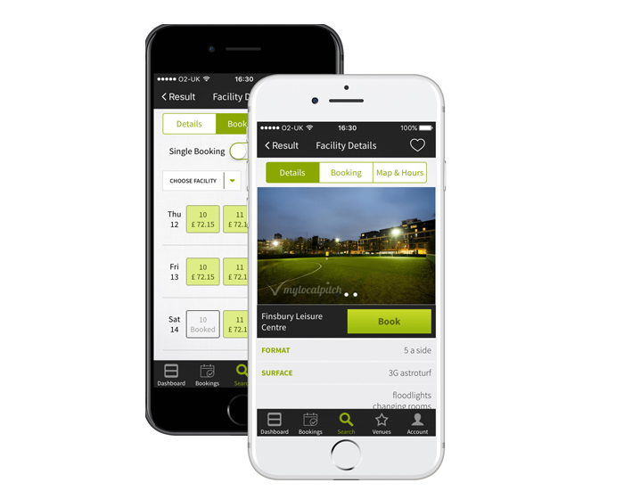 "New My Local Pitch app to ""significantly enhance grassroots sporting experiences"" says co-founder Jamie Foale"