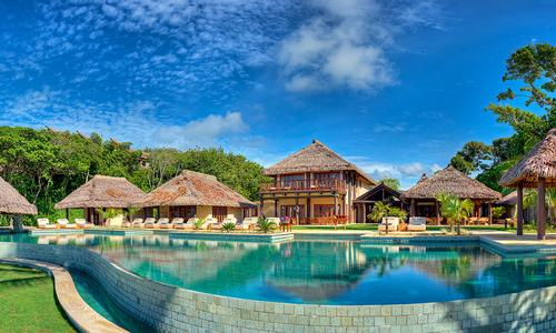 Nanuku Resort & Spa Fiji features shark dives in addition to spa offering
