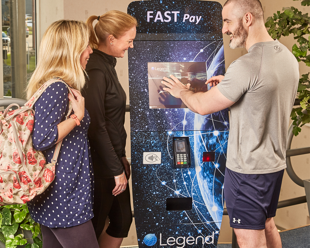 Legend and 10 Squared announce the launch of the new modular Legend Fast Track / Fast Payment Kiosk