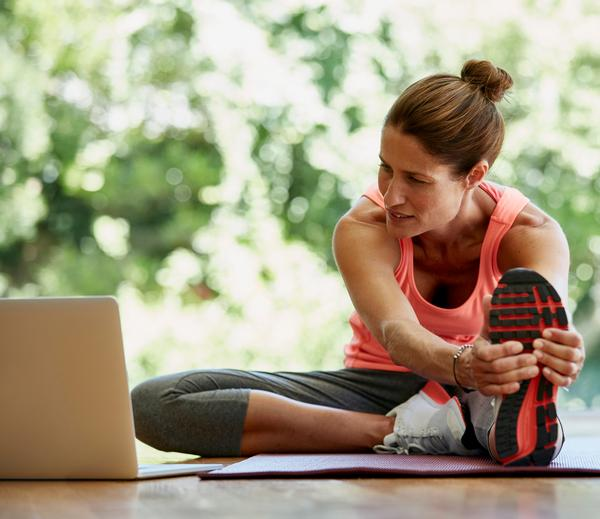 Virtual fitness allows members to maintain their workout momentum, even if they can't make it to the club