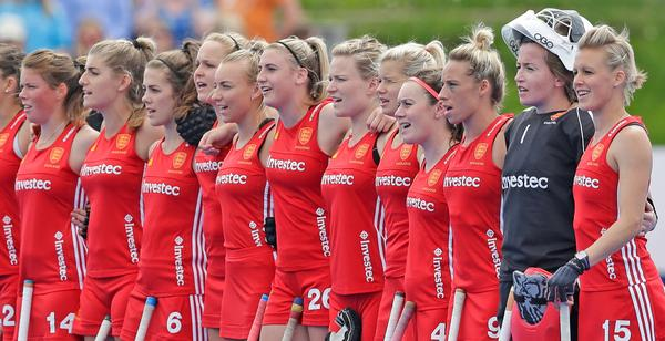 Investec sponsors the Great Britain and England women's international hockey team