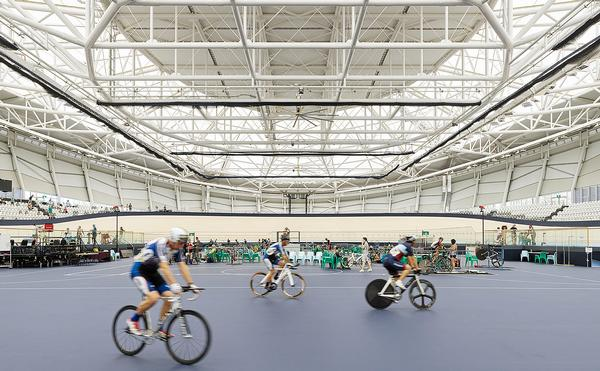 Anna Meares Velodrome is able to hold about 4,000 spectators / PHOTO: CFJ PHOTOGRAPHY