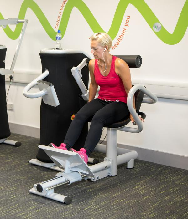 eGym allows for total body training