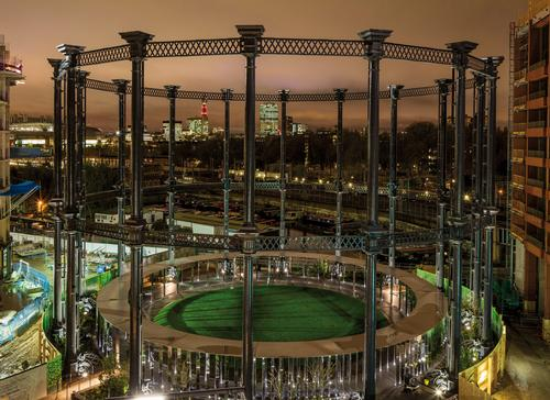 Hari Phillips, a partner at Bell Phillips, said: 'To design a new use for such a well-known London landmark was both a daunting responsibility and an unmissable opportunity' / Bell Phillips Architects