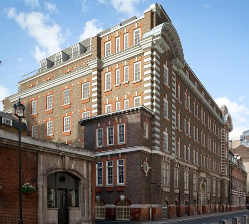The completed hotel will be seven-storeys high and will retain the grand Edwardian Imperial red brick and stone facade