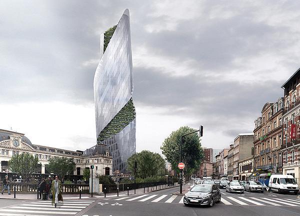 The Occitanie Tower / Image: Luxigon