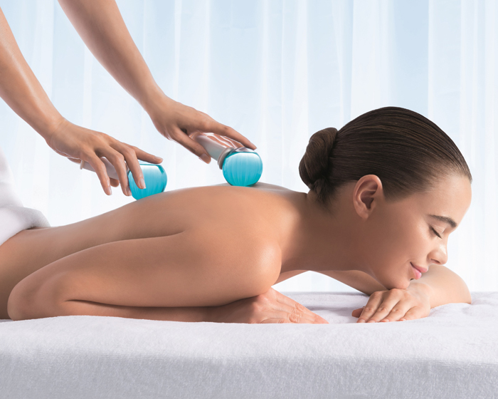 The ritual is designed to promote 'a deep sense of wellness' by alternating between hot and cold