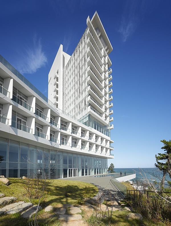 The Seamarq Hotel was built in preparation for the 2018 Winter Olympics in PeongChang