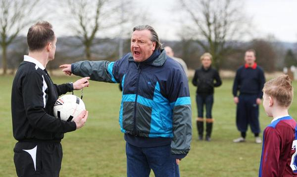 Actor Ray Winstone appeared in the FA's Respect campaign adverts in 2009 / the FA