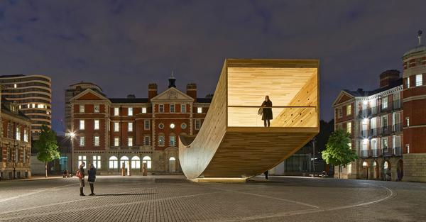 """Arup engineer Andrew Lawrence described the Smile as """"the most complex CLT structure ever built"""""""