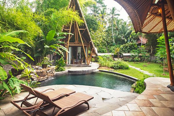 Cacao House at the Green Village, Bali.