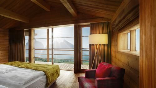 Dolomites UNESCO World Heritage Site hotel to open in 2014