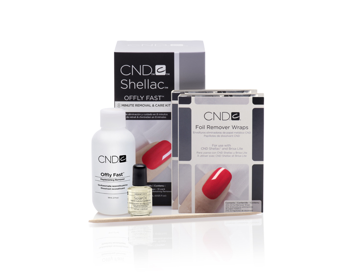 CND introduces anytime nail colour removal kit
