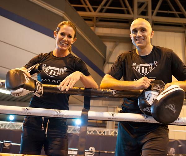 Ricky Hatton's team showcased their products