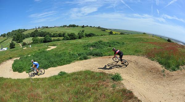 £3m has been invested in Hadleigh Park since it hosted the mountain bike events at London 2012