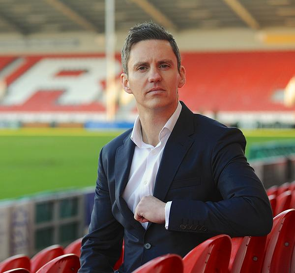 Gloucester Rugby CEO Steve Vaughan joined the club after working on the London 2012 Games / Gloucester Rugby