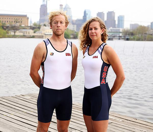 The one-piece suits will keep rowers safe from water pollution using anti-microbial technology