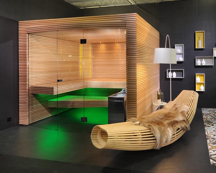 Küng Sauna unveils Ovola sauna