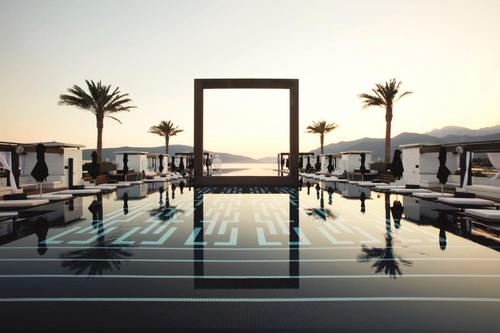 Hotel guests have priority access to Lido Pool, a 64m (210ft) outdoor infinity pool and lounge within the marina village / Regent Hotels & Resorts