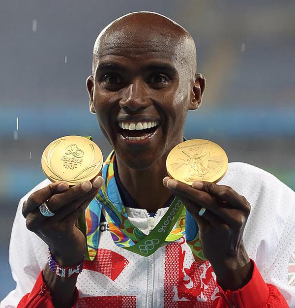 Mo Farah's two gold medals contributed to the overall haul of 67 / Martin Rickett / PA Wire / Press Association