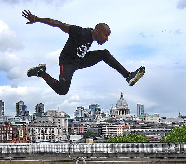 Foucan is seen as a freerunning founder