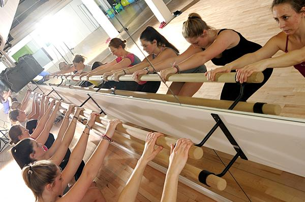 Barre classes are included in Group B, which costs £95 a month