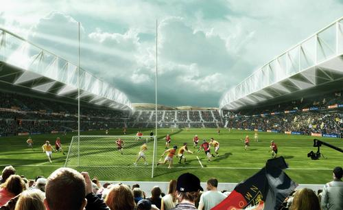 The 38,000-capacity stadium is scheduled to open in 2016, but does not have final planning approval