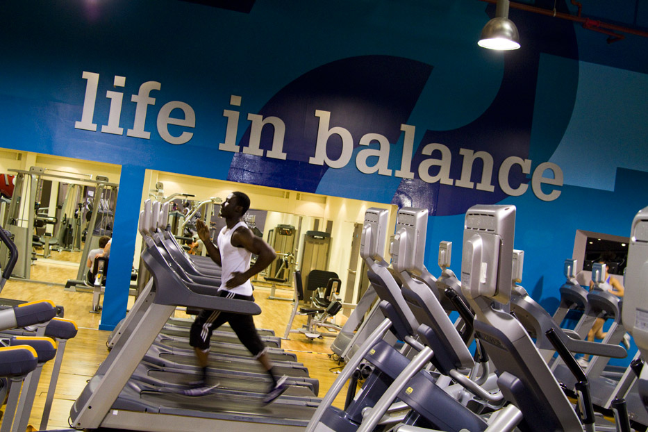 The 27,000sq ft site overlooking the Thames features a 6,000sq ft gym